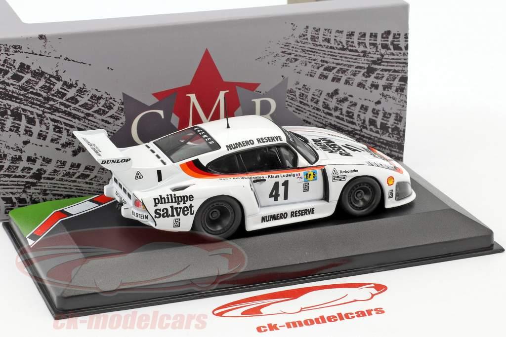 Porsche 935 K3 #41 ganador 24h LeMans 1979 Ludwig, Whittington, Whittington 1:43 CMR