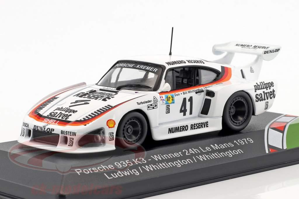 Porsche 935 K3 #41 Winner 24h LeMans 1979 Ludwig, Whittington, Whittington 1:43 CMR