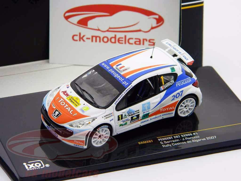 Peugeot 207 S2000 #1 Samle Casinos do Algarve 2007 1:43 Ixo