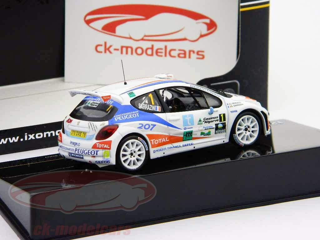 Peugeot 207 S2000 #1 Rally Casinos do Algarve 2007 1:43 Ixo