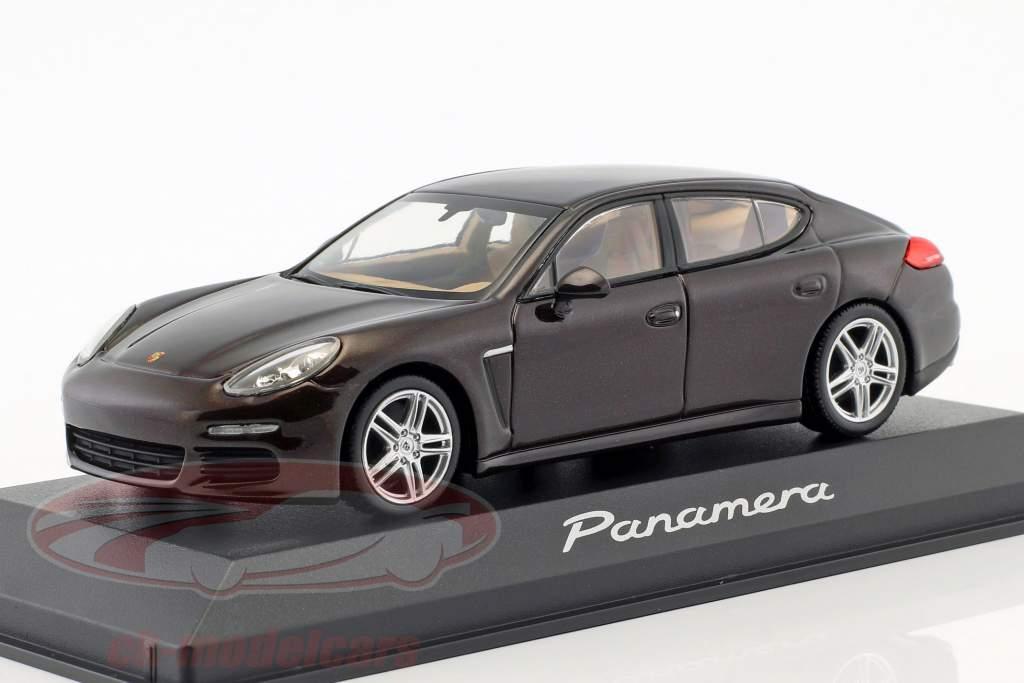 Porsche Panamera S Gen. II anno 2014 mogano 1:43 Minichamps
