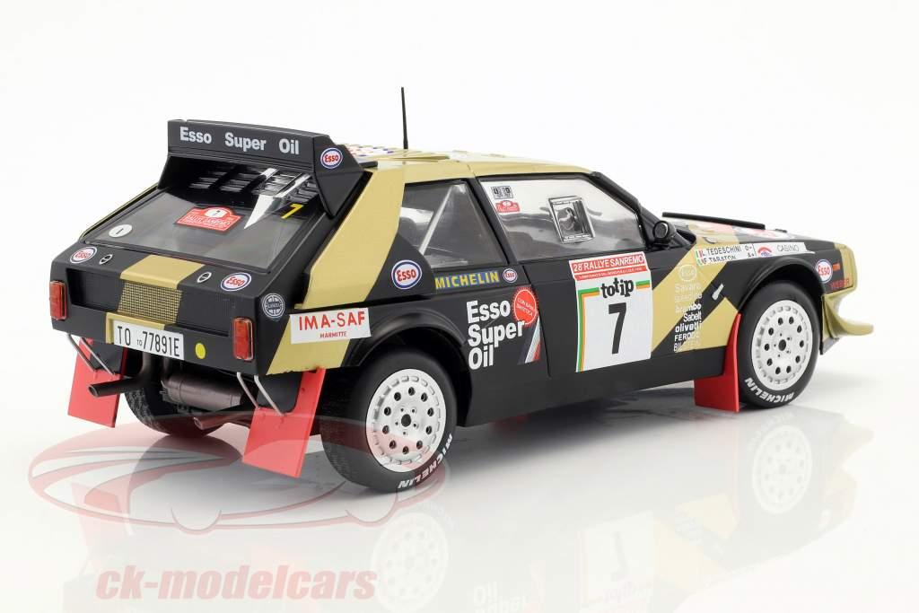 Lancia Delta S4 #7 Rallye SanRemo 1986 Tabaton, Tedeschini 1:18 Triple9