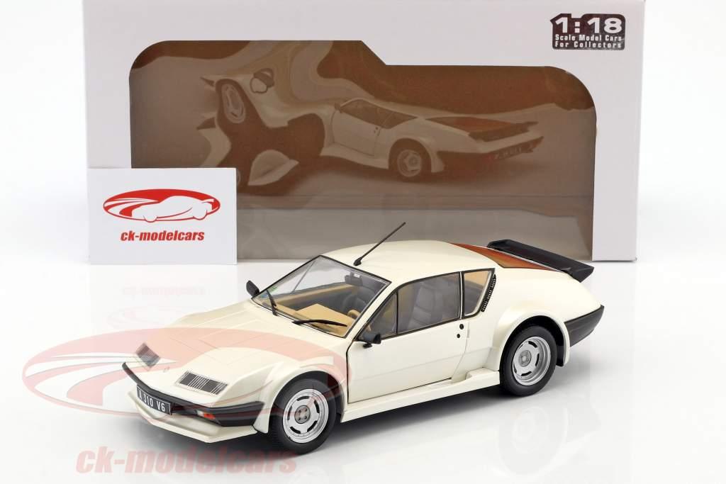 Renault Alpine A310 Pack GT ano de construção 1983 branco 1:18 Solido