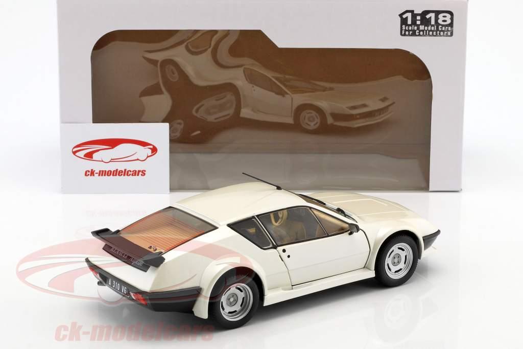 Renault Alpine A310 Pack GT année de construction 1983 blanc 1:18 Solido