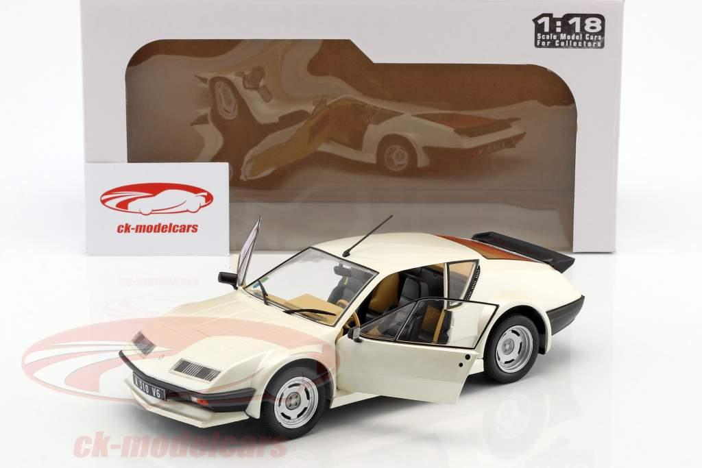 Renault Alpine A310 Pack GT Opførselsår 1983 hvid 1:18 Solido