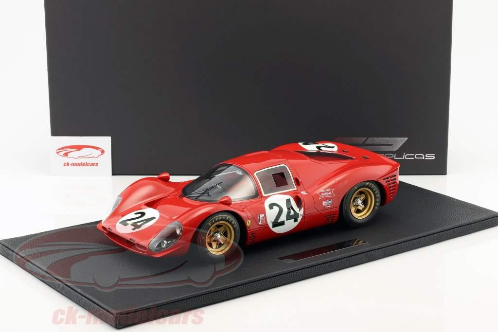 Ferrari 330 P4 #24 2nd 24h Daytona 1967 Parkes, Scarfiotti 1:12 GP Replicas