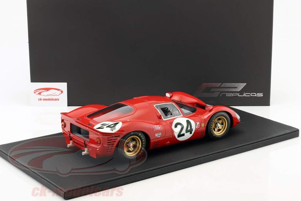 Ferrari 330 P4 #24 2º 24h Daytona 1967 Parkes, Scarfiotti 1:12 GP Replicas