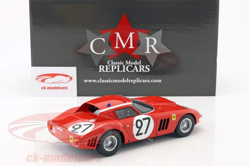 Ferrari 250 GTO 64 #27 9 ° 24h LeMans 1964 Tavano, Grossmann 1:18 CMR