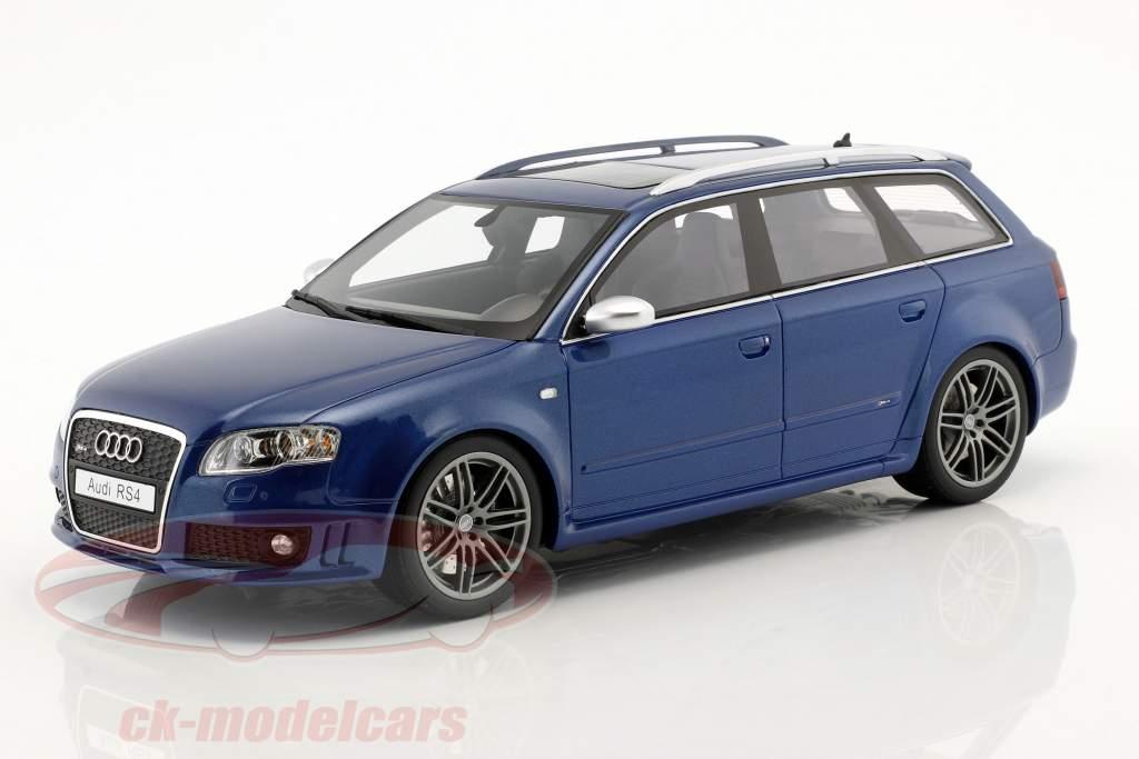 Audi RS4 B7 année de construction 2005 sepang bleu métallique 1:18 OttOmobile