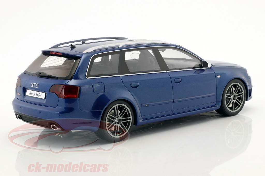 Audi RS4 B7 year 2005 sepang blue metallic 1:18 OttOmobile