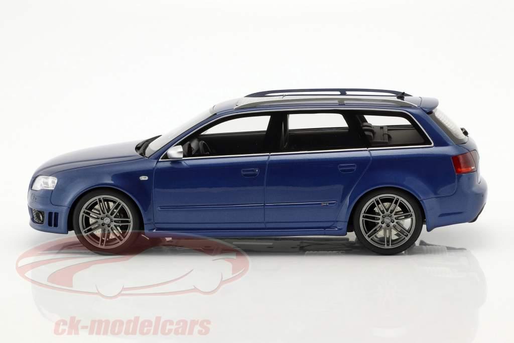 Audi RS4 B7 Opførselsår 2005 Sepang blå metallisk 1:18 OttOmobile