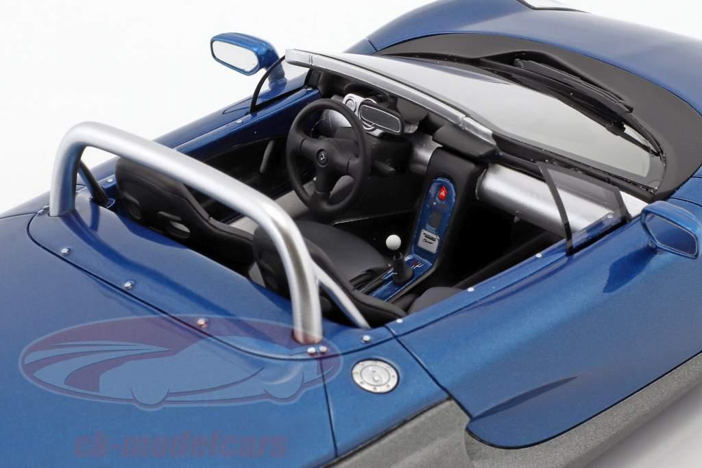 Renault Spider ano de construção 1998 esportes azul metálico 1:18 OttOmobile