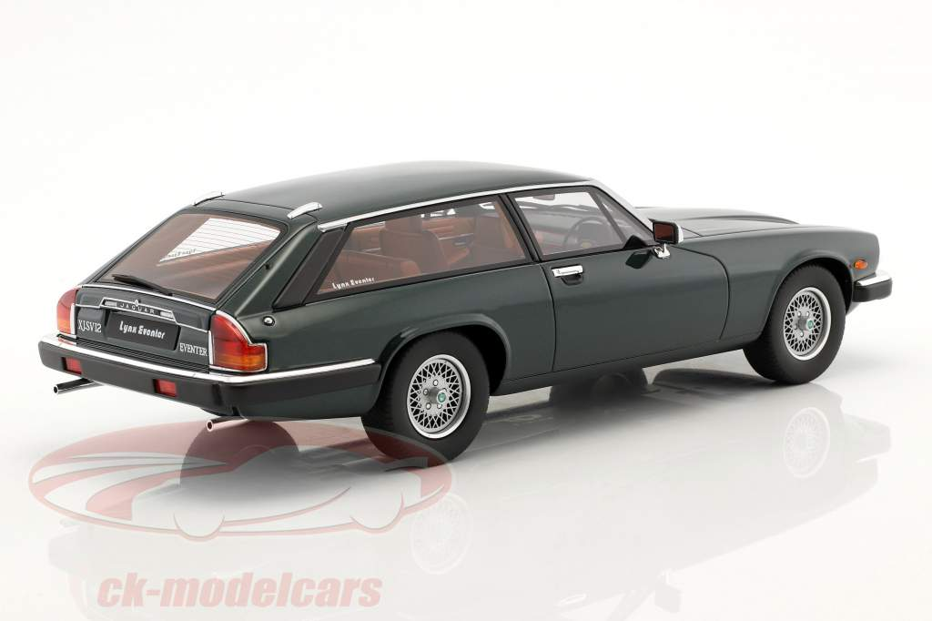 Jaguar XJS Lynx Eventer ano de construção 1983 british racing green 1:18 GT-Spirit