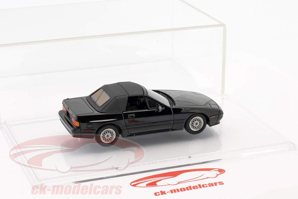 Mazda RX-7 Cabriolet Opførselsår (1989–1991) sort 1:43 DNA Collectibles
