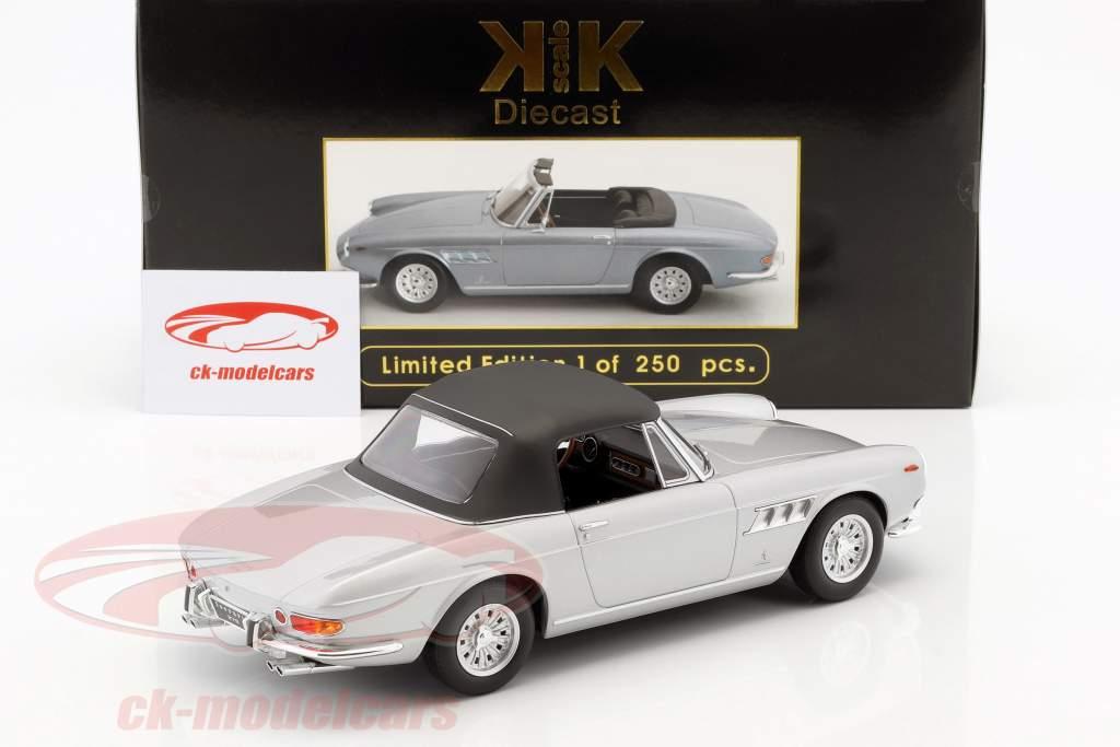 Ferrari 275 GTS Pininfarina Spyder com liga jantes ano de construção 1964 prata 1:18 KK-Scale