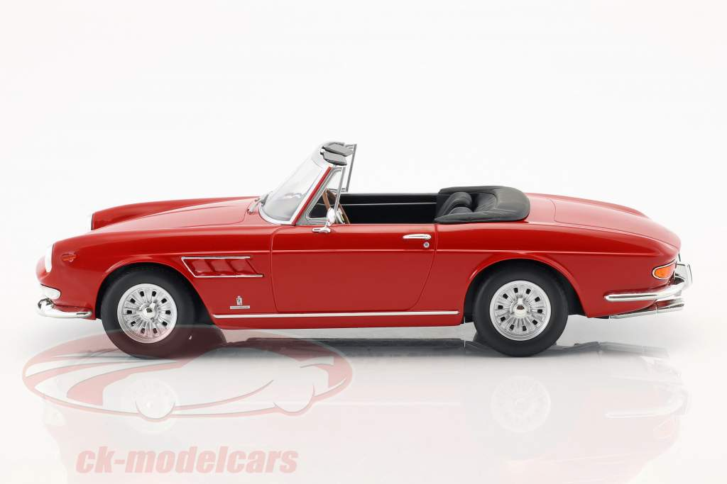 Ferrari 275 GTS Pininfarina Spyder with alloy rims year 1964 red 1:18 KK-Scale