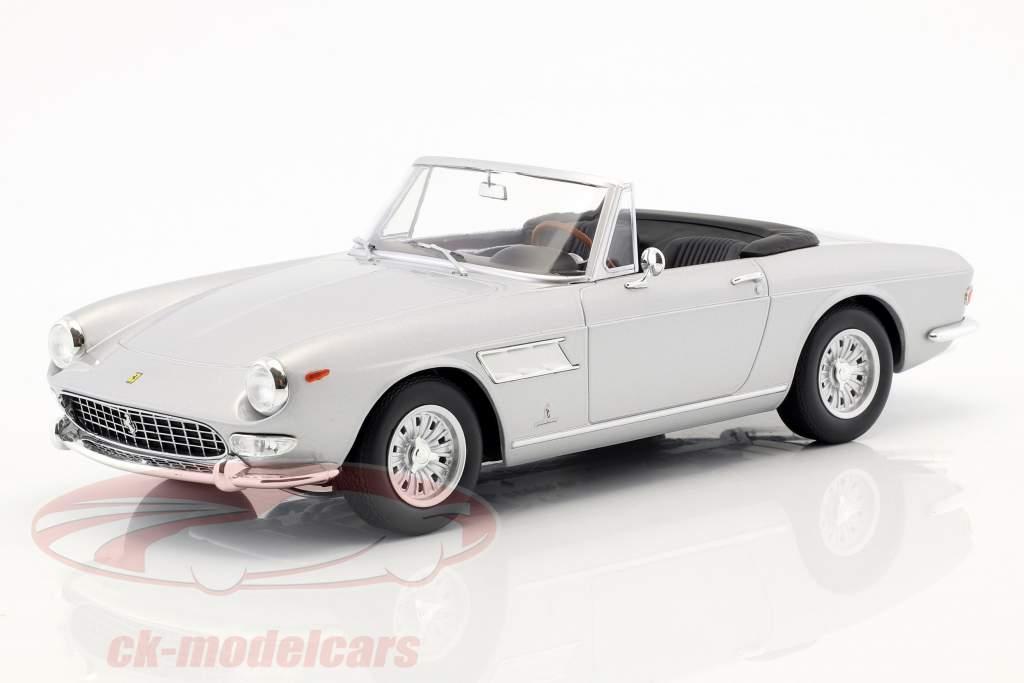 Ferrari 275 GTS Pininfarina Spyder with alloy rims year 1964 silver 1:18 KK-Scale