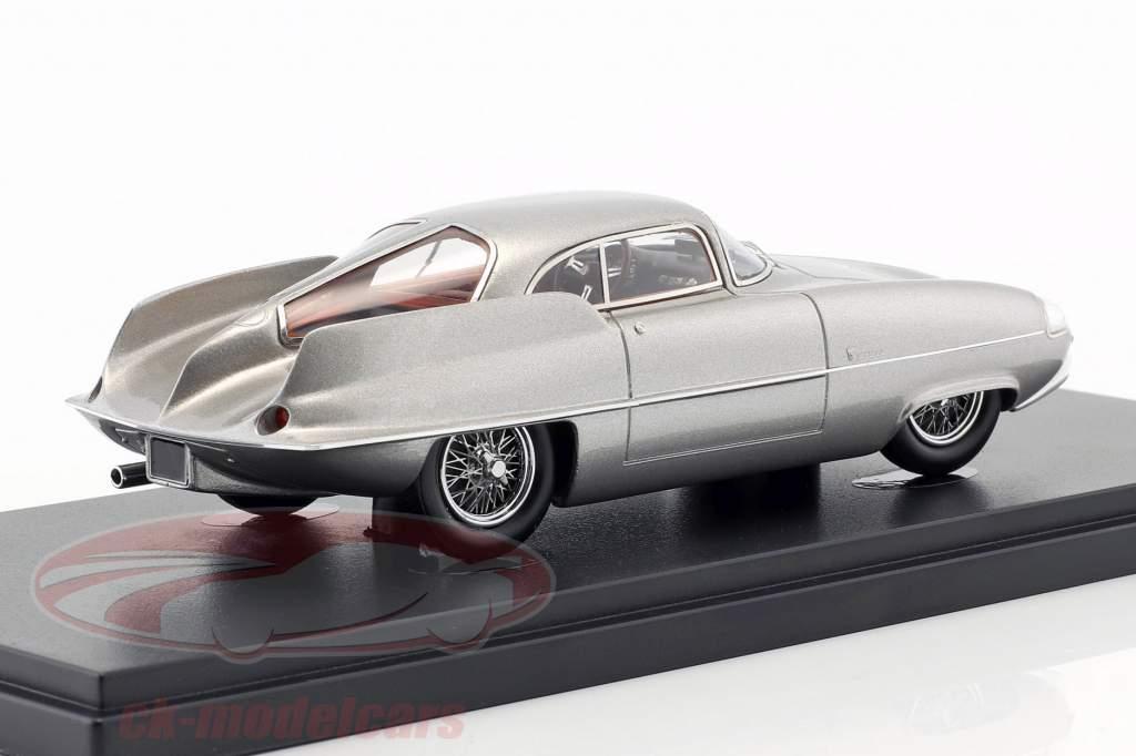 Alfa Romeo B.A.T. 9 Opførselsår 1955 sølv 1:43 AutoCult