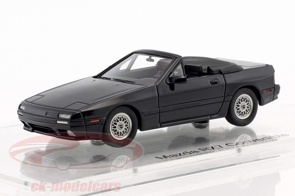 Mazda RX-7 Cabriolet year (1989–1991) black 1:43 DNA Collectibles