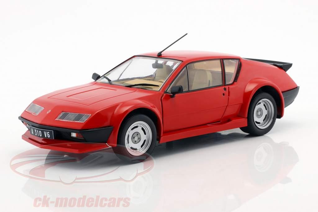 Renault Alpine A310 Pack GT ano de construção 1983 vermelho 1:18 Solido