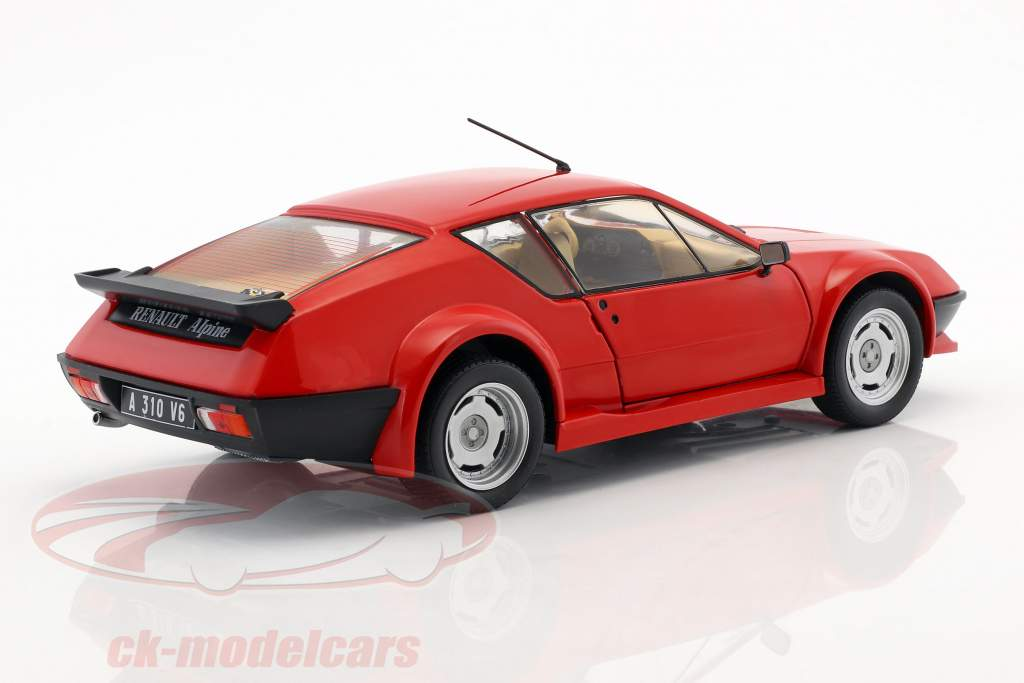 Renault Alpine A310 Pack GT year 1983 red 1:18 Solido