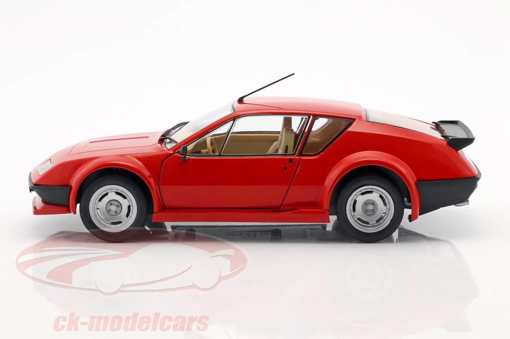 Renault Alpine A310 Pack GT année de construction 1983 rouge 1:18 Solido