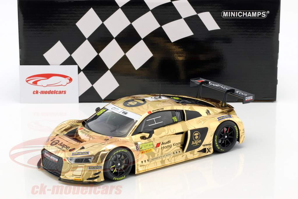 Audi R8 LMS #16 FIA GT World Cup Macau 2016 Marchy Lee 1:18 Minichamps