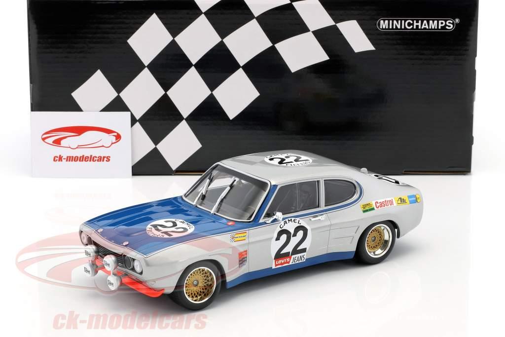 Ford Capri RS 2600 #22 ganador 24h Spa 1971 Glemser, Soler-Roig 1:18 Minichamps