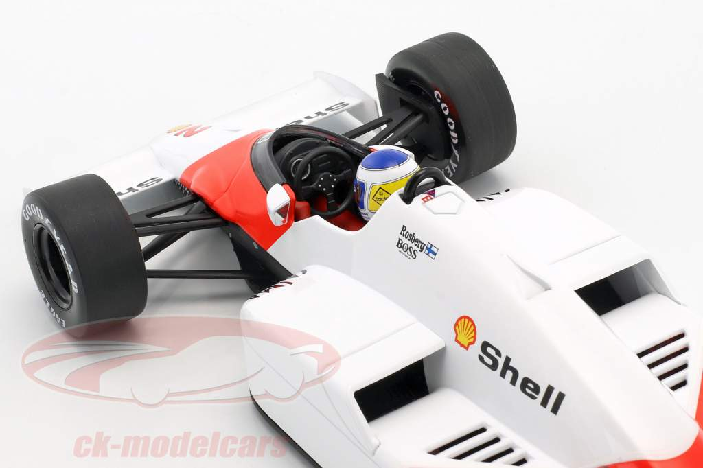 Keke Rosberg McLaren MP4/2C #2 fórmula 1 1986 1:18 Minichamps