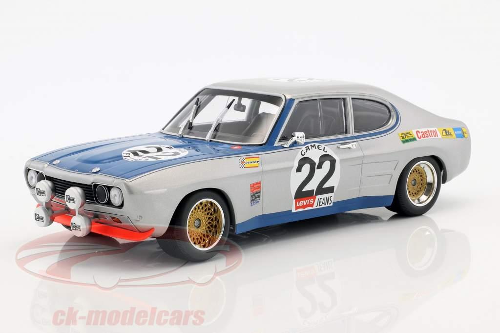 Ford Capri RS 2600 #22 Winner 24h Spa 1971 Glemser, Soler-Roig 1:18 Minichamps