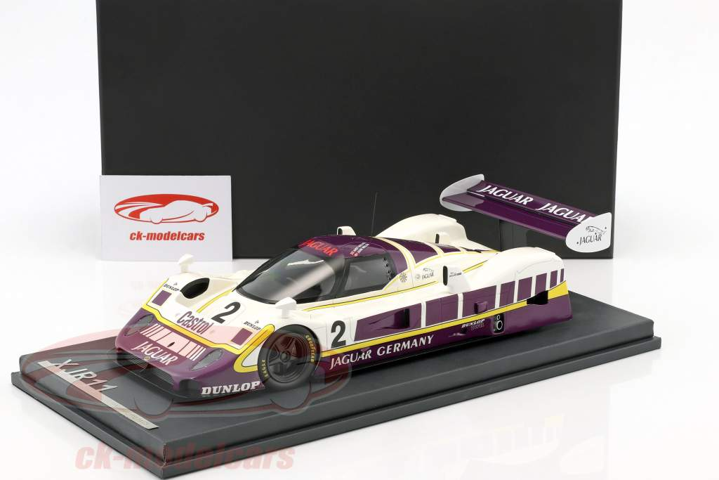 Jaguar XJR11 #2 5th 480km Nürburgring 1989 Walace, Nielsen with Showcase 1:18 MCW