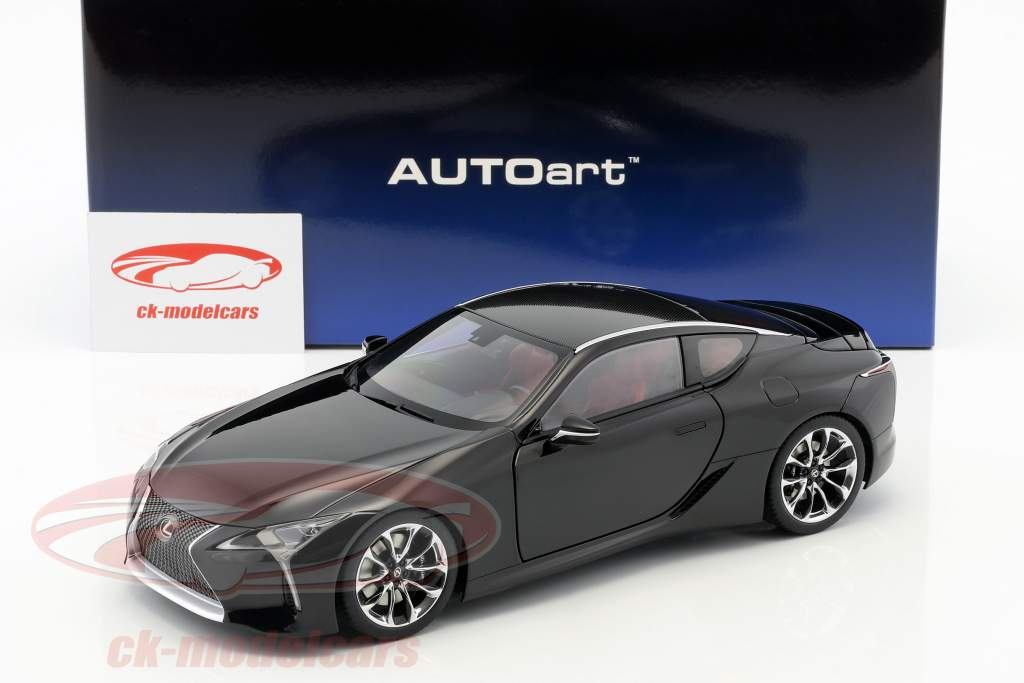Lexus LC 500 year 2017 black 1:18 AUTOart