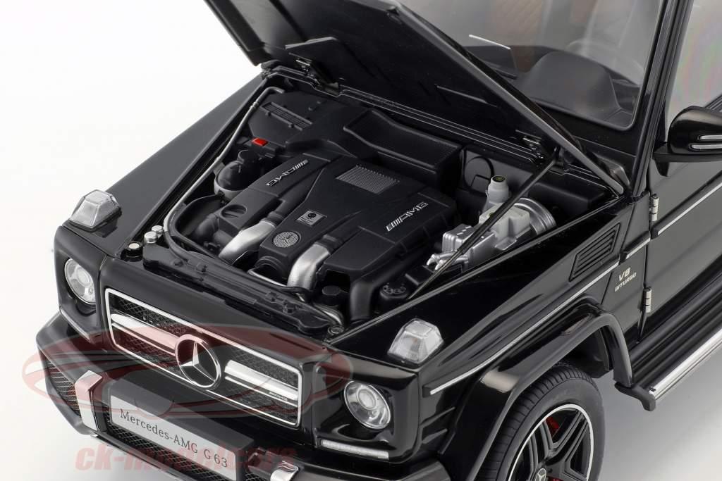 Mercedes-Benz AMG G63 année de construction 2017 brillant noir 1:18 AUTOart