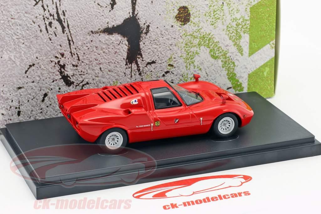 FNM Alfa Romeo Furia GT year 1971 red 1:43 AutoCult