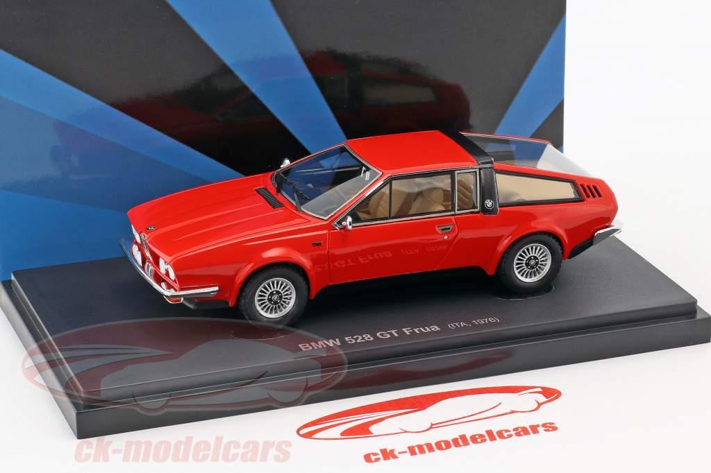 BMW 528 GT Frua Baujahr 1976 rot 1:43 AutoCult
