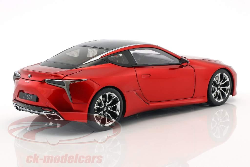 Lexus LC 500 year 2017 red metallic 1:18 AUTOart