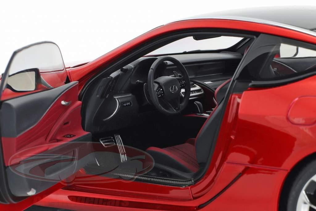 Lexus LC 500 Bouwjaar 2017 rood metalen 1:18 AUTOart