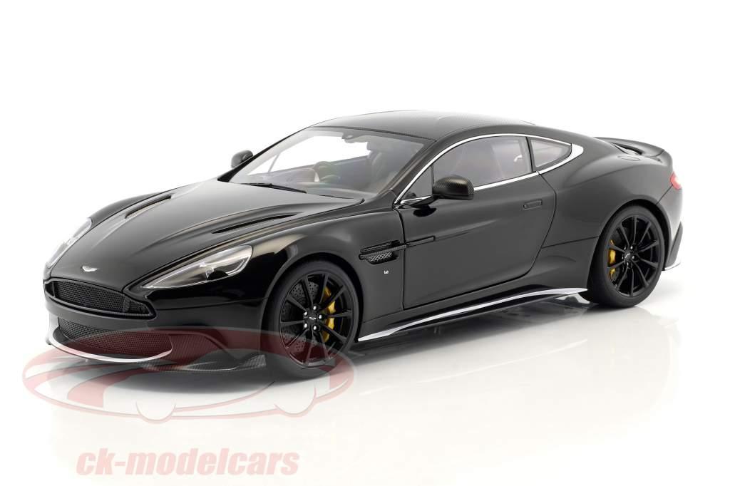 Aston Martin Vanquish S année de construction 2017 onyx noir 1:18 AUTOart