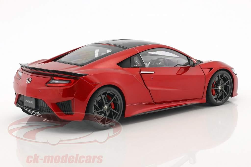Honda NSX (NC1) année de construction 2016 rouge métallique 1:18 AUTOart