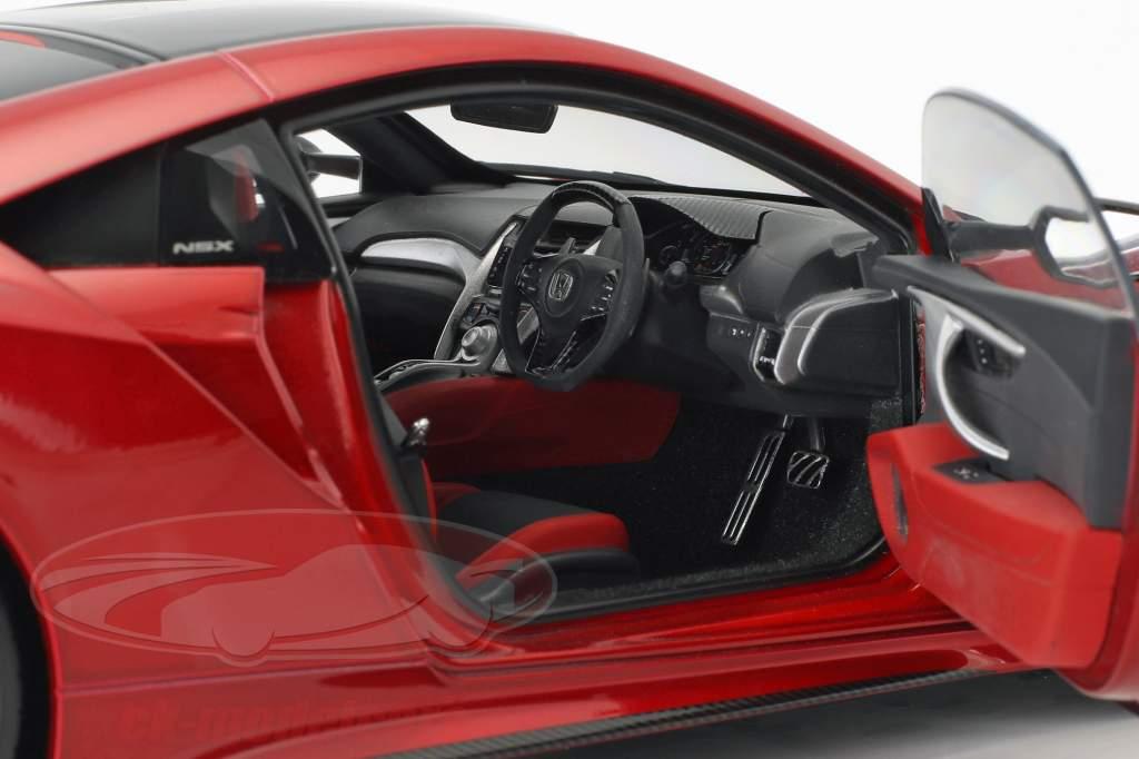Honda NSX (NC1) año de construcción 2016 rojo metálico 1:18 AUTOart