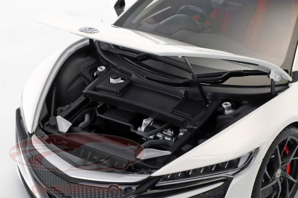 Honda NSX (NC1) année de construction 2016 blanc 1:18 AUTOart