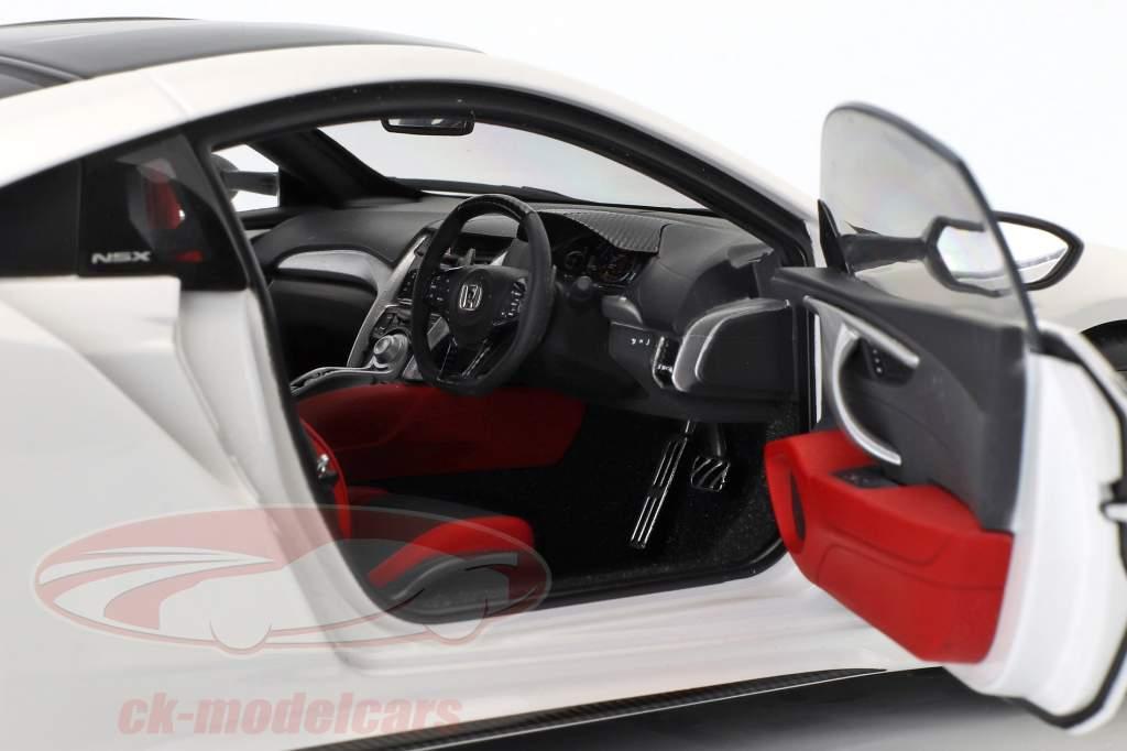 Honda NSX (NC1) ano de construção 2016 branco 1:18 AUTOart