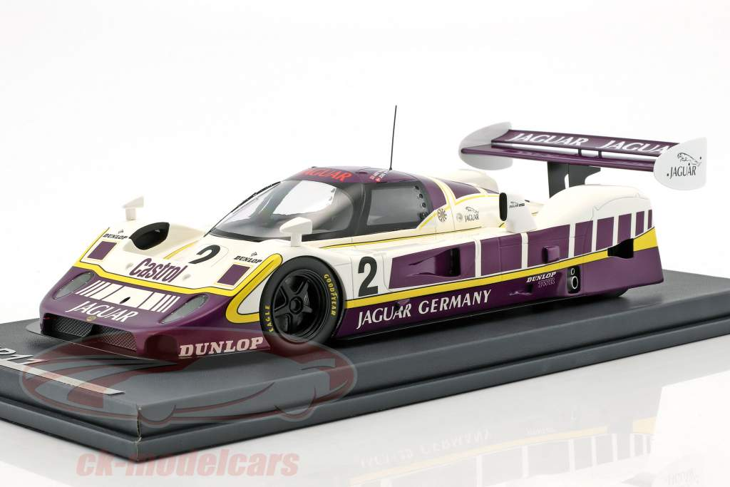 Jaguar XJR11 #2 5 480km Nürburgring 1989 Walace, Nielsen com mostruário 1:18 MCW