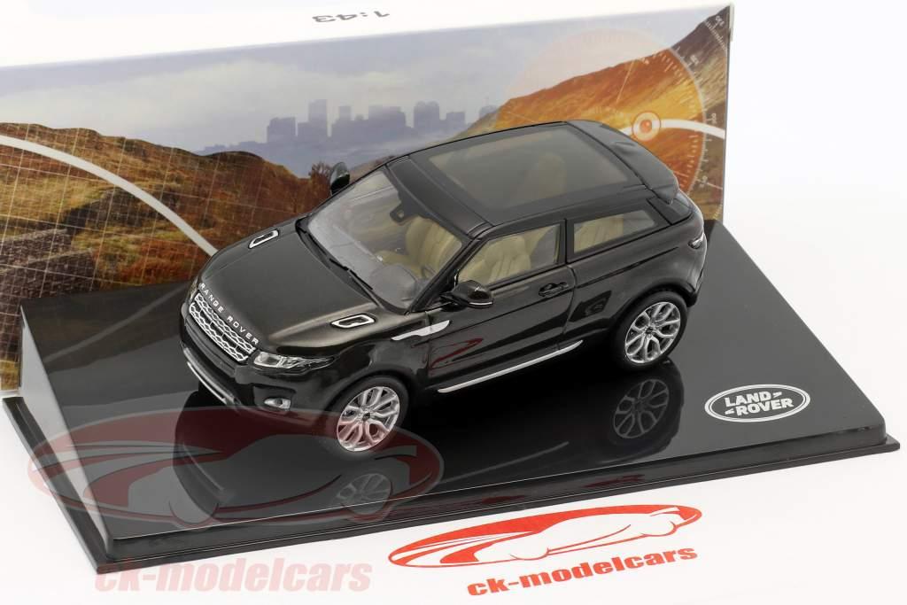 Land Rover Range Rover Evoque year 2011 santorini black 1:43 Ixo