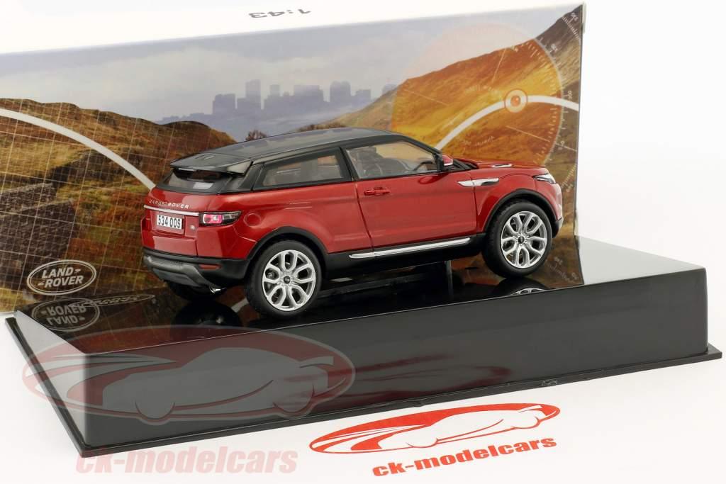 Land Rover Range Rover Evoque Opførselsår 2011 firenze rød 1:43 Ixo