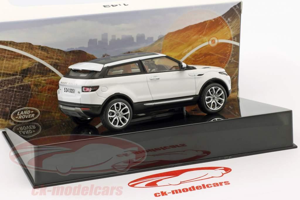 Land Rover Range Rover Evoque Opførselsår 2011 fuji hvid 1:43 Ixo