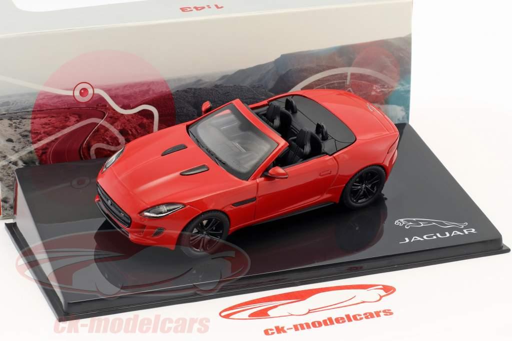 Jaguar F-Type V8-S cabriolet année de construction 2013 salsa rouge 1:43 Ixo
