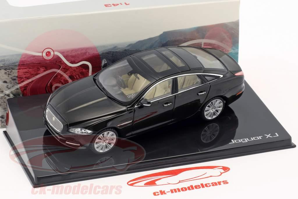 Jaguar XJ (X351) year 2009 amethyst black 1:43 Ixo