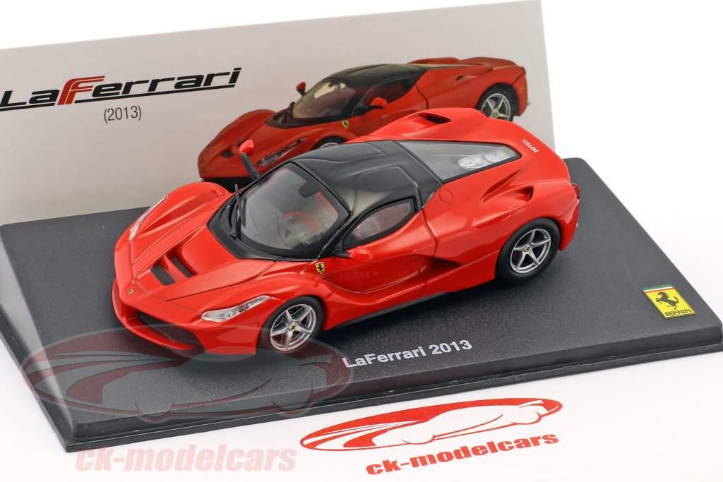 Ferrari LaFerrari Opførselsår 2013 rød / sort 1:43 Altaya