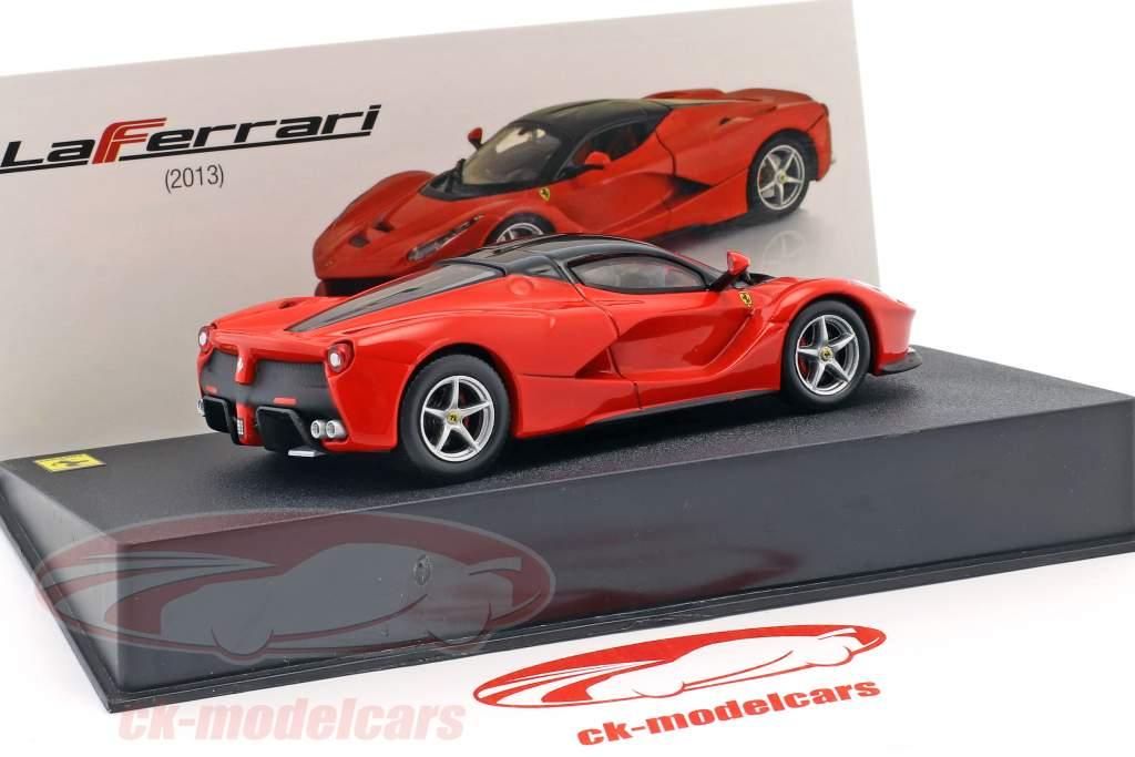 Ferrari LaFerrari anno di costruzione 2013 rosso / nero 1:43 Altaya